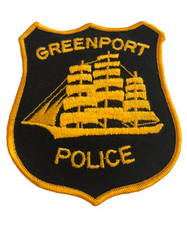 GREENPORT NY POLICE PATCH