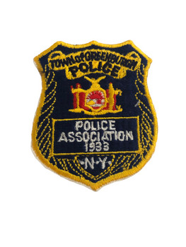 GREENBURGH NY POLICE ASSN BADGE PATCH