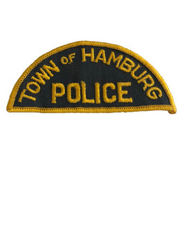 HAMBURG NY POLICE PATCH OLD SCHOOL