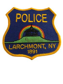 LARCHMONT NY POLICE PATCH 2