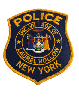 LAUREL HOLLOW NY POLICE PATCH