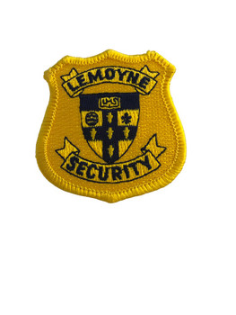 LEMOYNE SECURITY POLICE PATCH