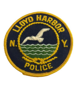 LLOYD HARBOR NY POLICE PATCH