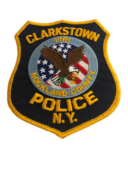 CLARKSTOWN NY POLICE PATCH