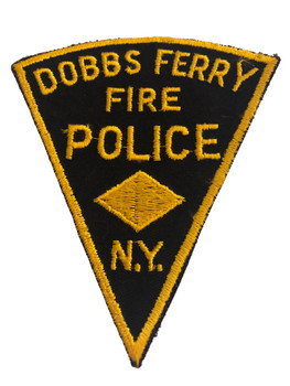 DOBBS FERRY NY FIRE POLICE PATCH