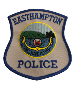 EAST HAMPTON NY POLICE PATCH