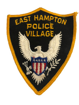 EAST HAMPTON VILLAGE NY POLICE PATCH