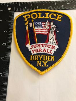 DRYDEN NY POLICE PATCH