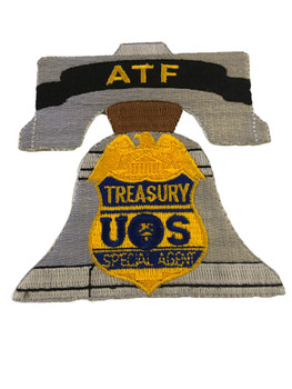 ATF PHILLY BELL PATCH