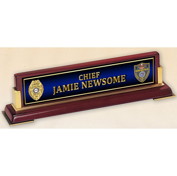 VERTICAL NAME PLATE