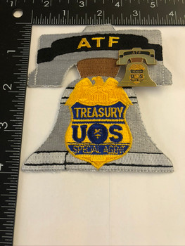 ATF PHILLY BELL PATCH & PIN