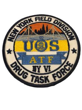 ATF NY DIV. TASK FORCE PATCH