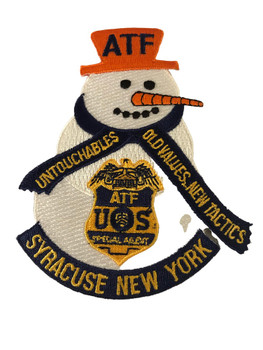 ATF SYRACUSE SNOWMAN PATCH