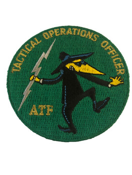 ATF TACTICAL OPS OFFICER HECKLE GREEN