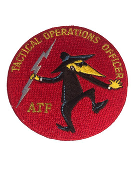 ATF TACTICAL OPS OFFICER HECKLE RED