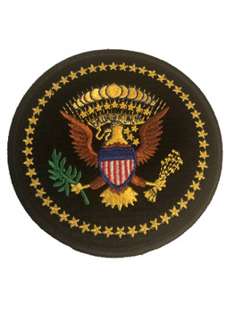 USA SEAL BLACK PATCH GOLD