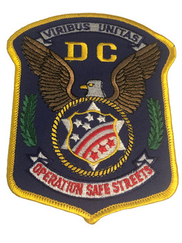 DC OPERATION SAFE STREETS PATCH