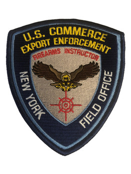US COMMERCE NY FIREARMS INSTRUCTOR PATCH