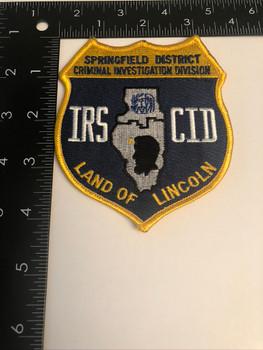 IRS CID SPRINGFIELD PATCH