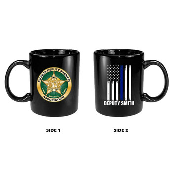 FDSA 15oz PERSONALIZED BLACK MUG