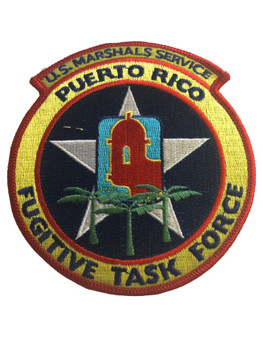 U.S. MARSHALS SERVICE PUERTO RICO FUGITIVE PATCH