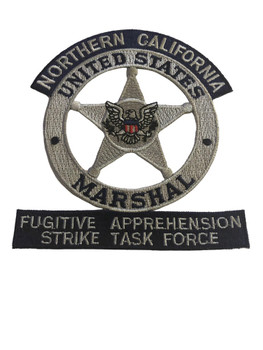 U.S. MARSHALS SERVICE NORTHERN CALIFORNIA FUGITIVE PATCH