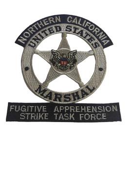 U.S. MARSHALS SERVICE NORTHERN CALIFORNIA FUGITIVE PATCH