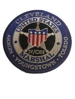 U.S. MARSHALS SERVICE NORTHERN OHIO PATCH SILVER