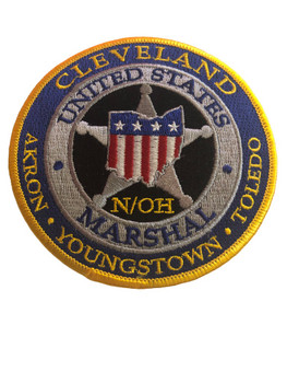 U.S. MARSHALS SERVICE NORTHERN OHIO PATCH GOLD