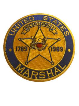 U.S. MARSHALS SERVICE BICENTENNIAL PATCH