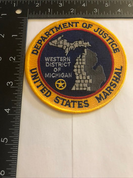 U.S. MARSHALS SERVICE WESTERN DISTRICT OF MICHIGAN PATCH