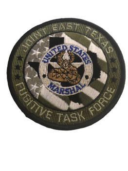 U.S. MARSHALS SERVICE EAST TEXAS FUGITIVE TASK FORCE PATCH
