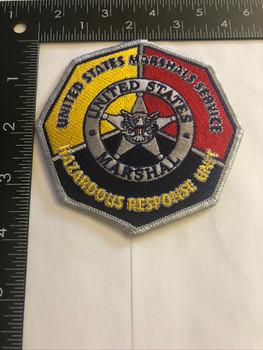 U.S. MARSHALS SERVICE HAZARDOUS RESPONSE TEAM PATCH