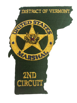 U.S. MARSHALS SERVICE DISTRICT OF VERMONT PATCH