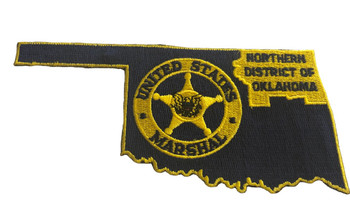 U.S. MARSHALS SERVICE DISTRICT NORTHERN OKLAHOMA PATCH