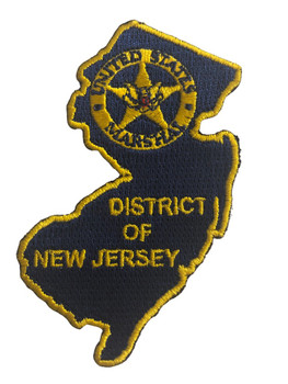 U.S. MARSHALS SERVICE DISTRICT OF NEW JERSEY PATCH