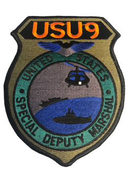 U.S. MARSHALS SERVICE USU 9 PATCH