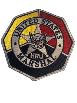 U.S. MARSHALS SERVICE HRU PATCH