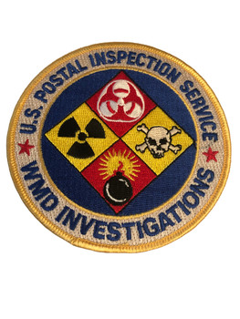 US POSTAL INSPECTION SERVICE WMD PATCH RARE