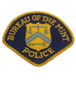 BUREAU OF THE MINT POLICE PATCH
