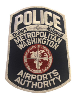METRO WASHINGTON AIRPORTS AUTHORITY POLICE PATCH