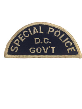 D. C. GOV'T SPECIAL POLICE PATCH