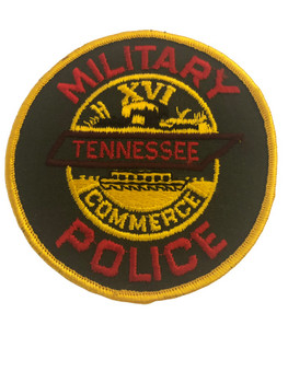 MILITARY POLICE TENNESSEE POLICE PATCH