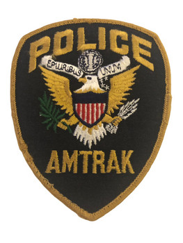 AMTRAK POLICE PATCH