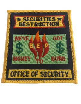 SECURITIES DESTRUCTION PATCH RARE