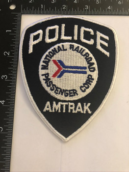 AMTRAK RAILROAD POLICE PATCH