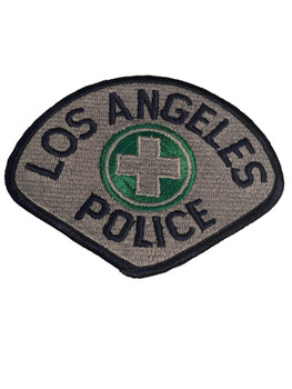 LOS ANGELES POLICE CROSS PATCH