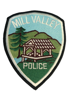 MILL VALLEY CA POLICE PATCH