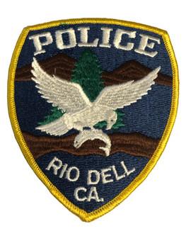 RIO DELL CA POLICE PATCH