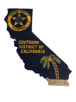 U.S. MARSHALS SERVICE SOUTHERN CALIFORNIA PATCH